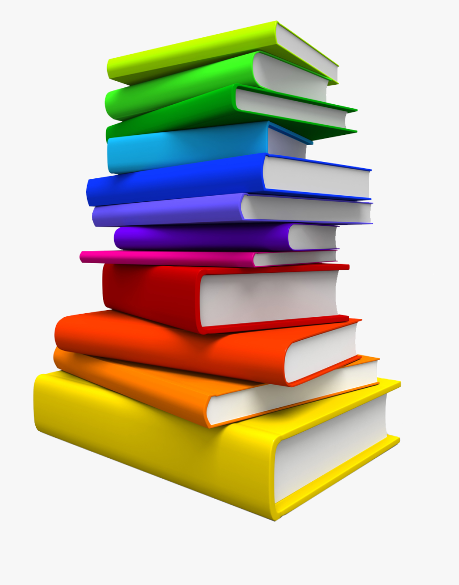 Pile Of Books Png, Transparent Clipart