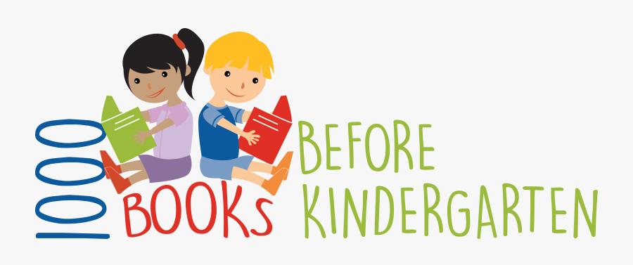 Kindergarten Clipart Library ~ Frames ~ Illustrations - 1 000 Books Before Kindergarten, Transparent Clipart