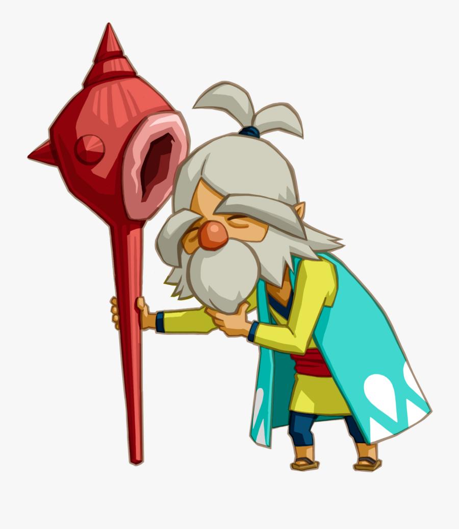 Legend Of Zelda Phantom Hourglass Oshus, Transparent Clipart