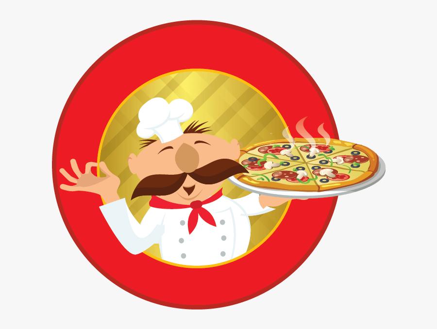 Transparent Food Clipart - Pizza, Transparent Clipart
