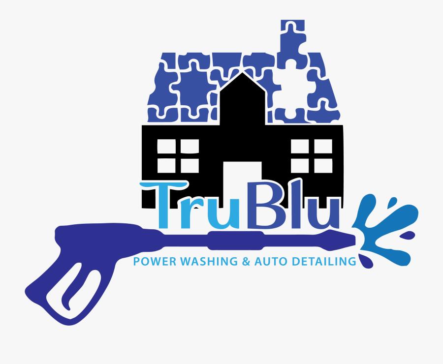 Trublu Power Washing & Auto Detailing, Transparent Clipart