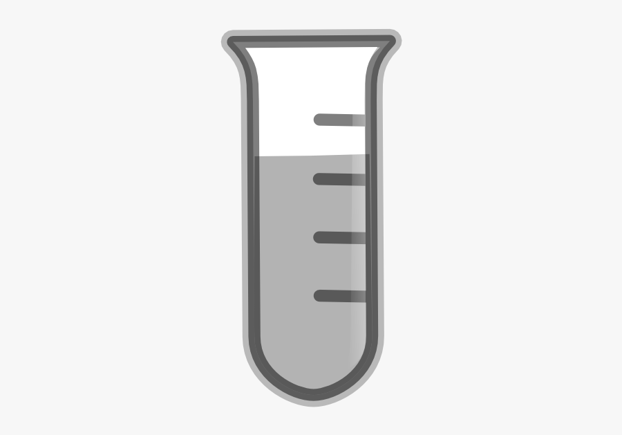 White Test Tube Transparent, Transparent Clipart