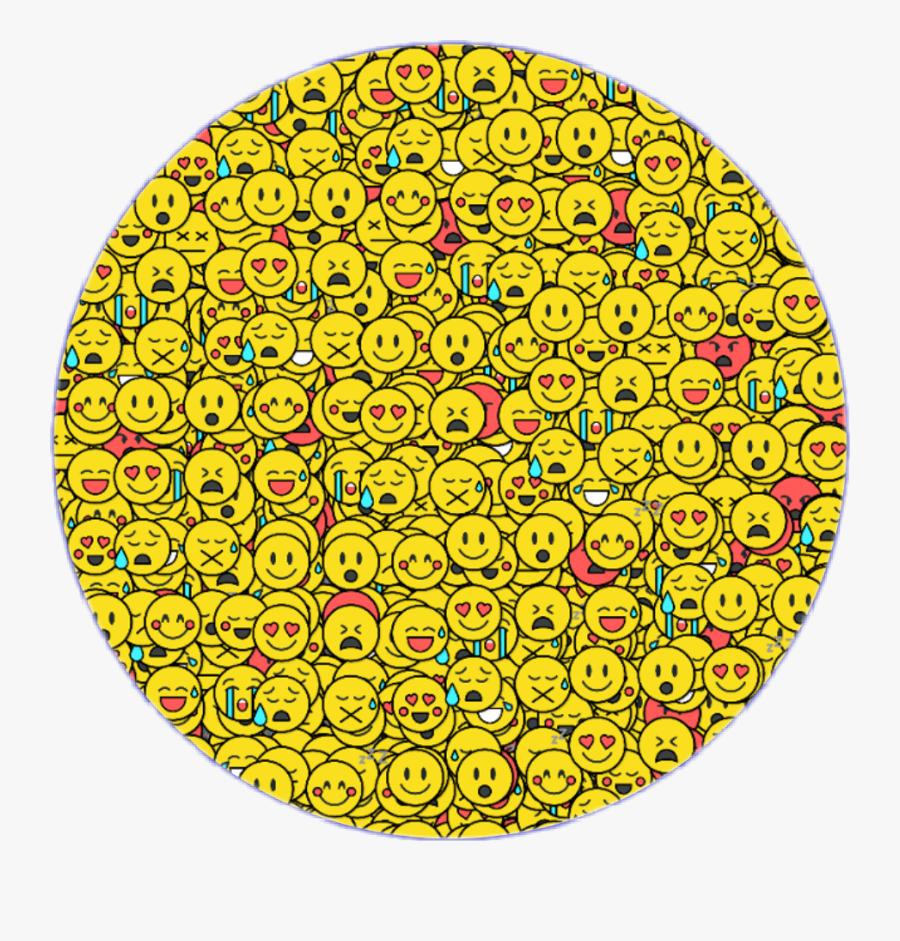 #emojicrowd #crowd #crowdemoji #circle #glitter #glitch - Circle, Transparent Clipart