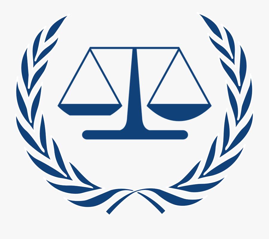 Scale, Justice, Judge, Court, Logo, Law, Legal - International Criminal Court, Transparent Clipart