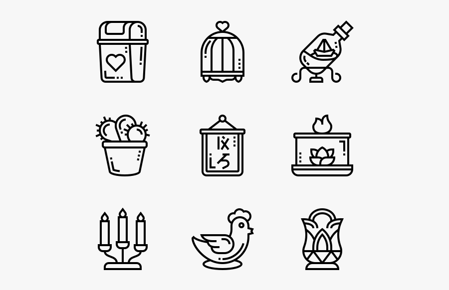 Home Decoration - Physio Icon, Transparent Clipart
