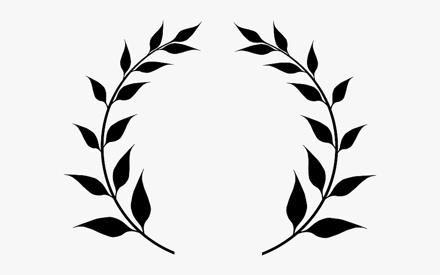 Free Image On Pixabay - Clip Art Olive Branches, Transparent Clipart