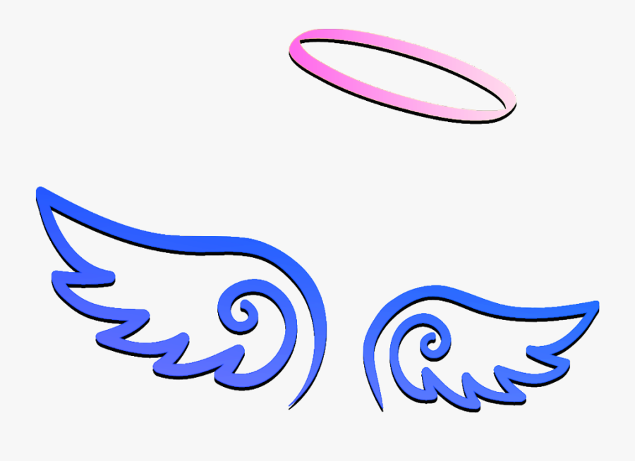 #angelwings #wing #freetoedit #angelwing #wings #fly - Devil Horns With Wings, Transparent Clipart