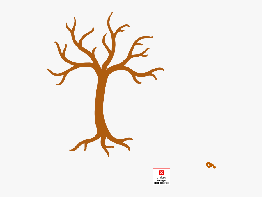 Tree No Leaves Clip Art At Clker - Cartoon Tree With No Leaves, Transparent Clipart