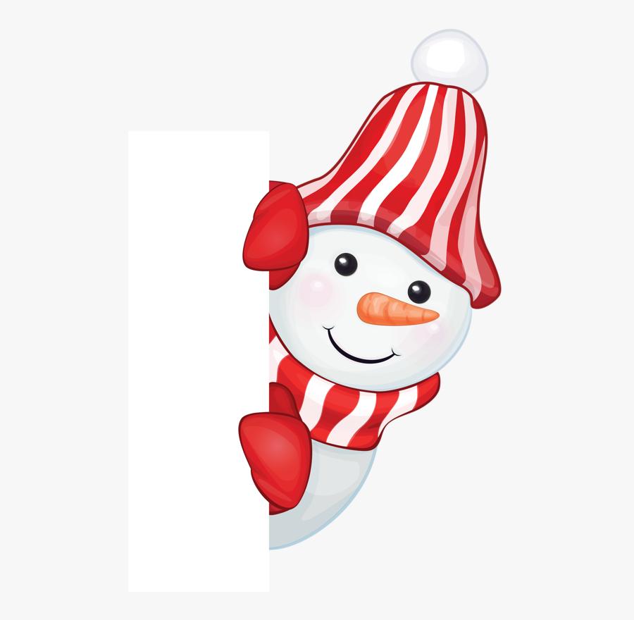 Tubes Noel Bonhommes De Neiges Tubes Christmas Amp - Peekaboo Santa Claus Clip Art, Transparent Clipart