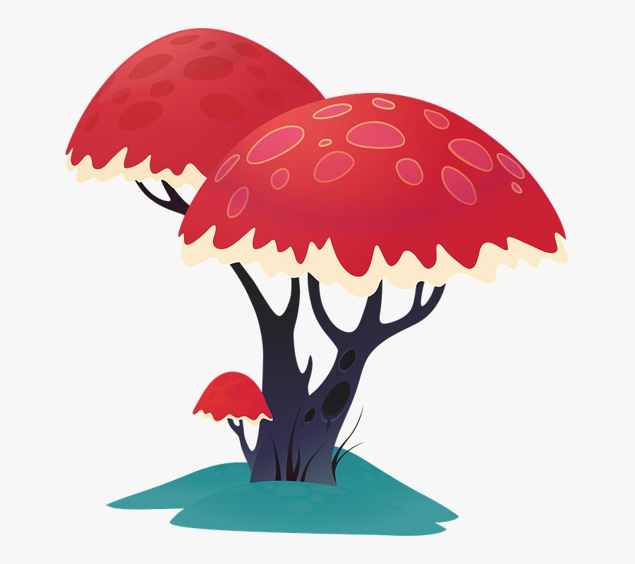 Tree, Art, Trunk, Artwork, Cartoon, Nature, Design - Trunk, Transparent Clipart
