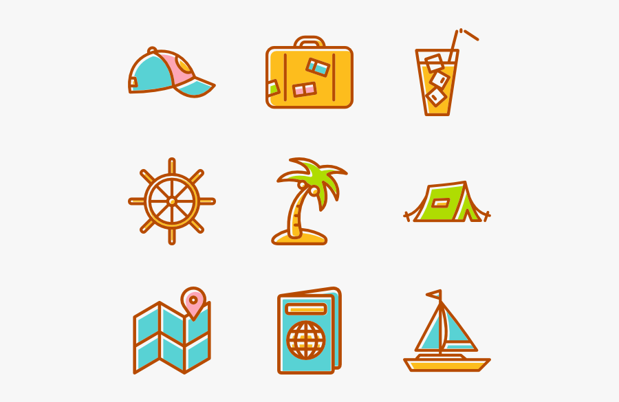 beach icons free vector summer icon vector png free transparent clipart clipartkey vector summer icon vector png