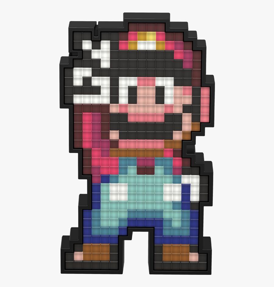Mario - - Super Mario World Mario Pixel Art, Transparent Clipart