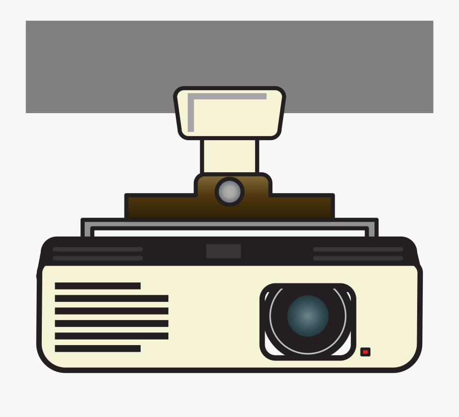 Roof Mounted Version Clip Arts - Projector Clipart, Transparent Clipart