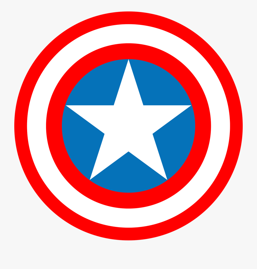 Did %27captain Marvel%27 Fail At Being One Of The Greatest - Vector Captain America Logo, Transparent Clipart