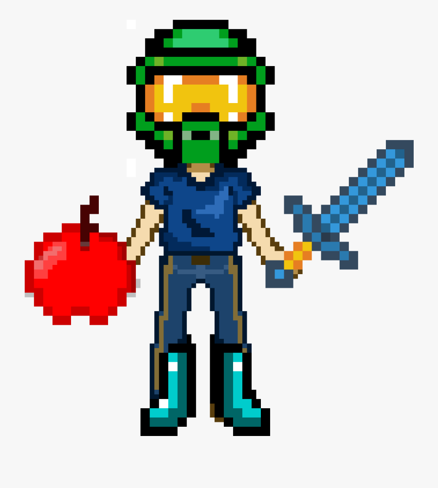 Halo Minecraft Pixel Art Free Transparent Clipart Clipartkey