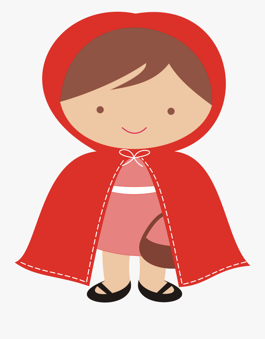 Transparent Big Bad Wolf Png - Little Red Riding Hood Cartoon, Transparent Clipart