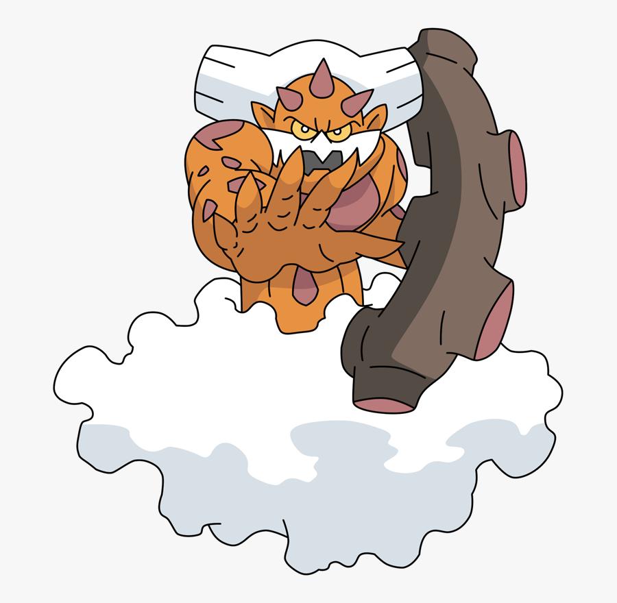 Pokemon 645 Landorus Pokedex - Drawings Of Pokemon Landorus, Transparent Clipart