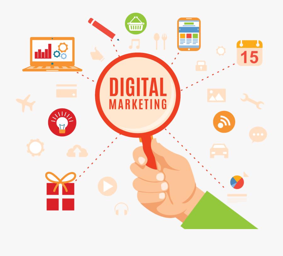 Marketing Digital Png, Transparent Clipart