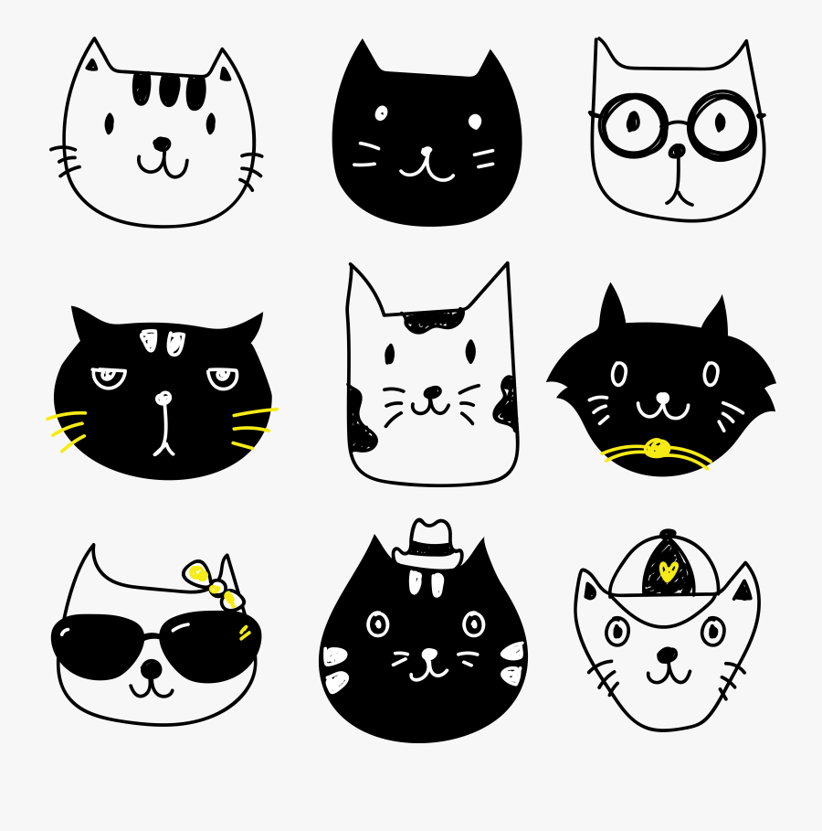 Free Cat Christmas Cliparts, Download Free Clip Art, Free Clip Art on  Clipart Library