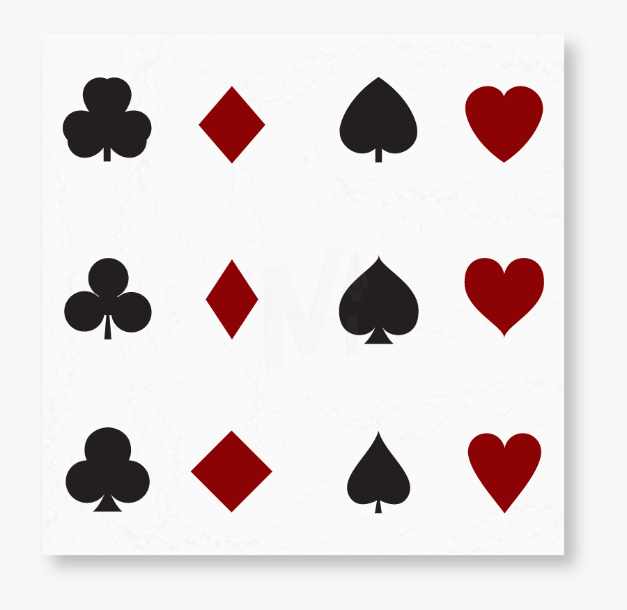 10++ Card Suits Png