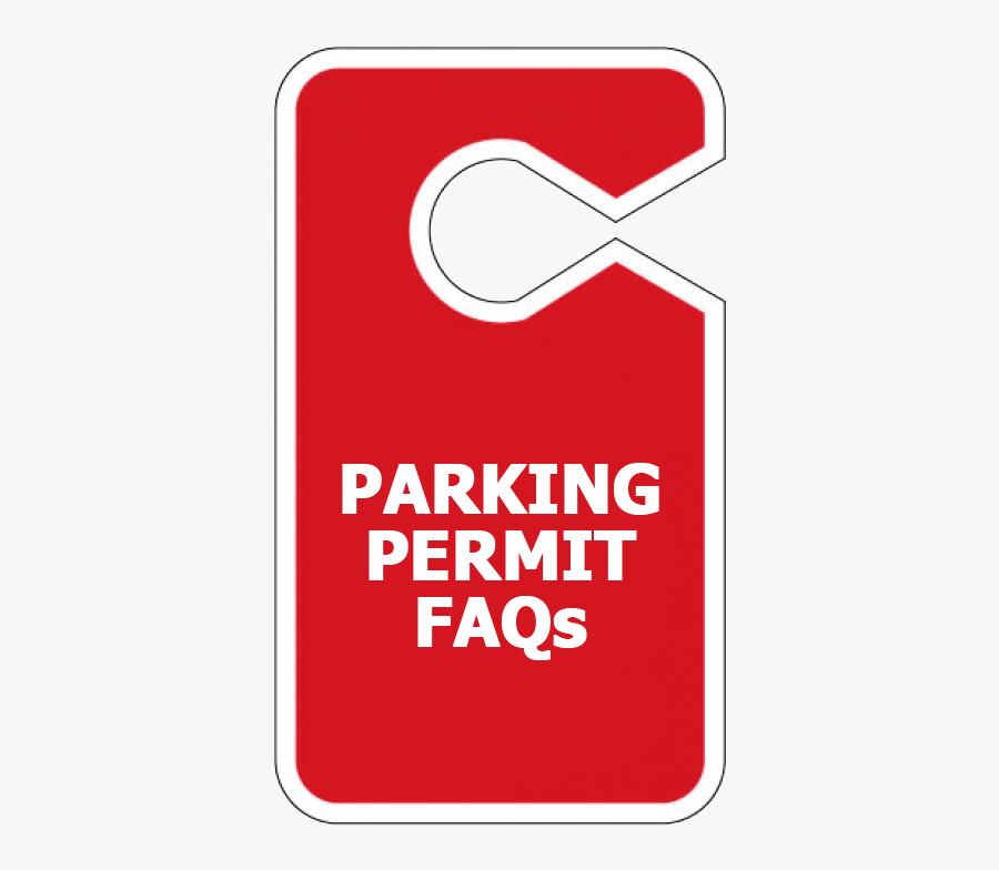 Lamar University - Parking Permit Png, Transparent Clipart