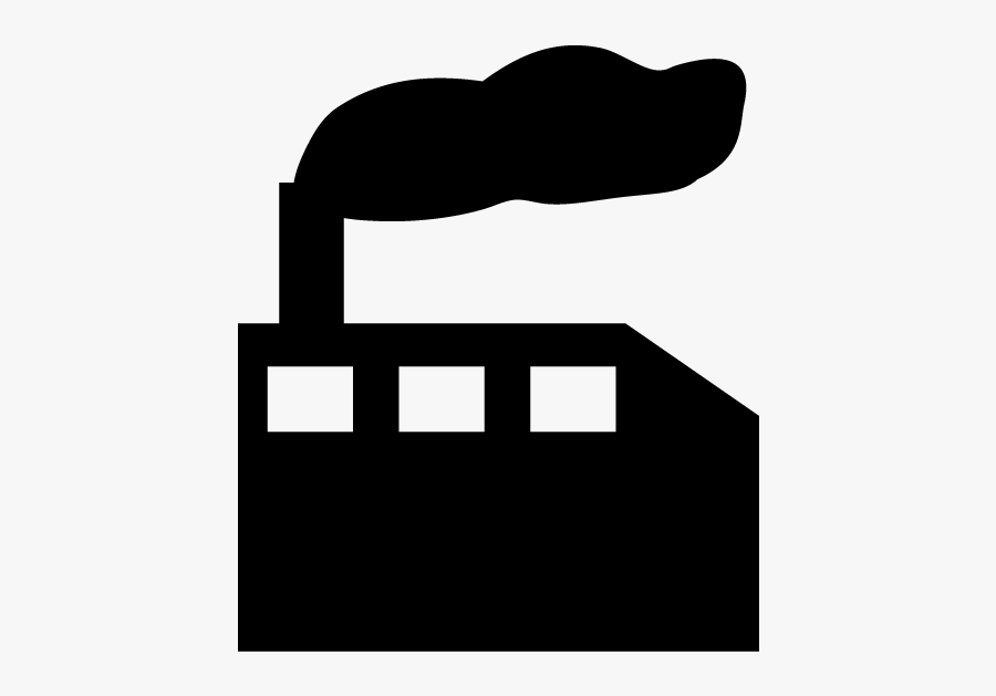 Map Symbol For Factory, Transparent Clipart