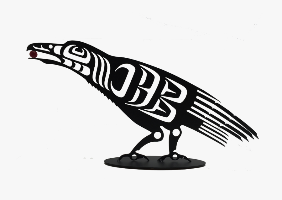 """First Nations Raven The Cuckoo""""s Nest - First Nations Raven Art, Transparent Clipart"""