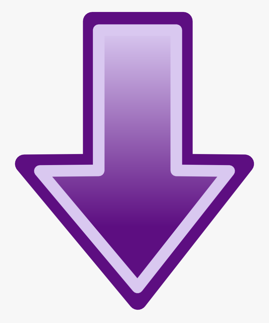 Arrow Pointing Down Clipart, Transparent Clipart