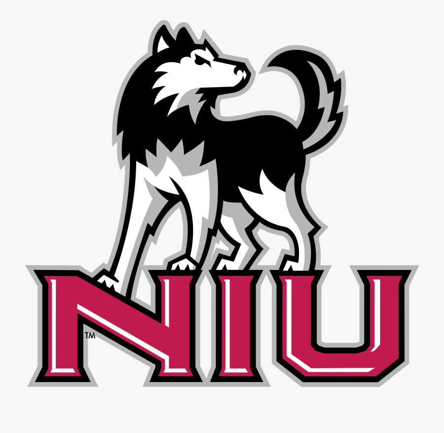 Niu Huskies Logo Logo Png Transparent - Bay City Central High School Wolf, Transparent Clipart