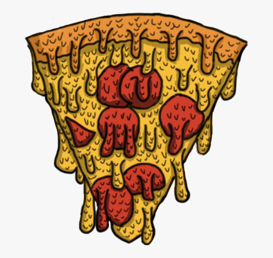 Transparent Grime Png - Pizza Grime Art, Transparent Clipart