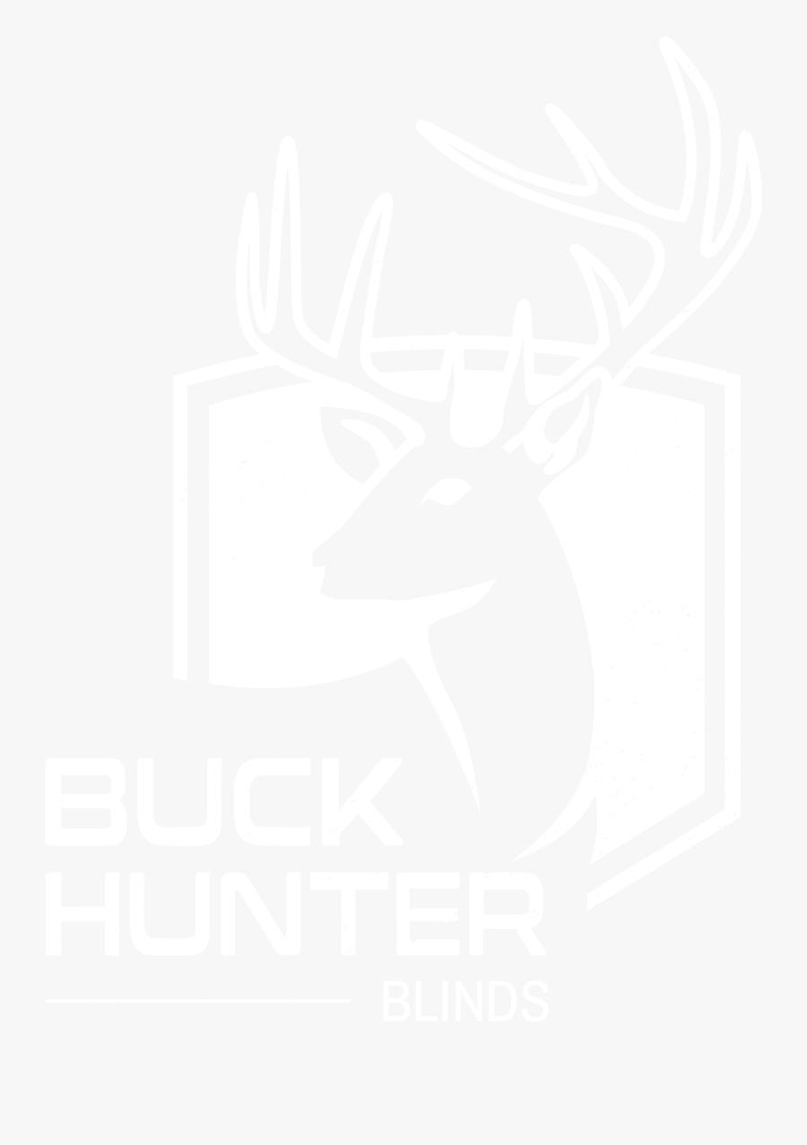 Buck Hunter Blinds Just - Design, Transparent Clipart