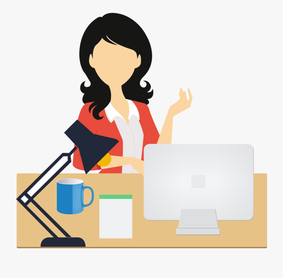 The Working Of Our Show And Go Attendance System Is - Office Work Clipart Png, Transparent Clipart