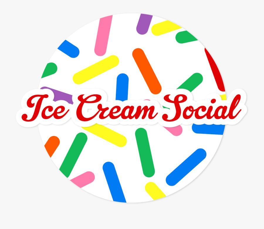 Photo For Ice Cream Social - Transparent Ice Cream Social, Transparent Clipart