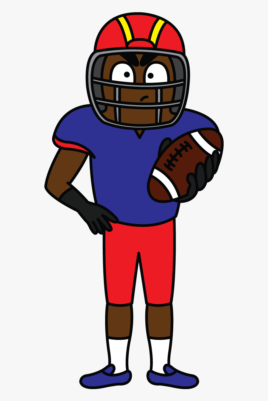 Drawissimo Kids How To Draw - Easy Drawing Football Players, Transparent Clipart