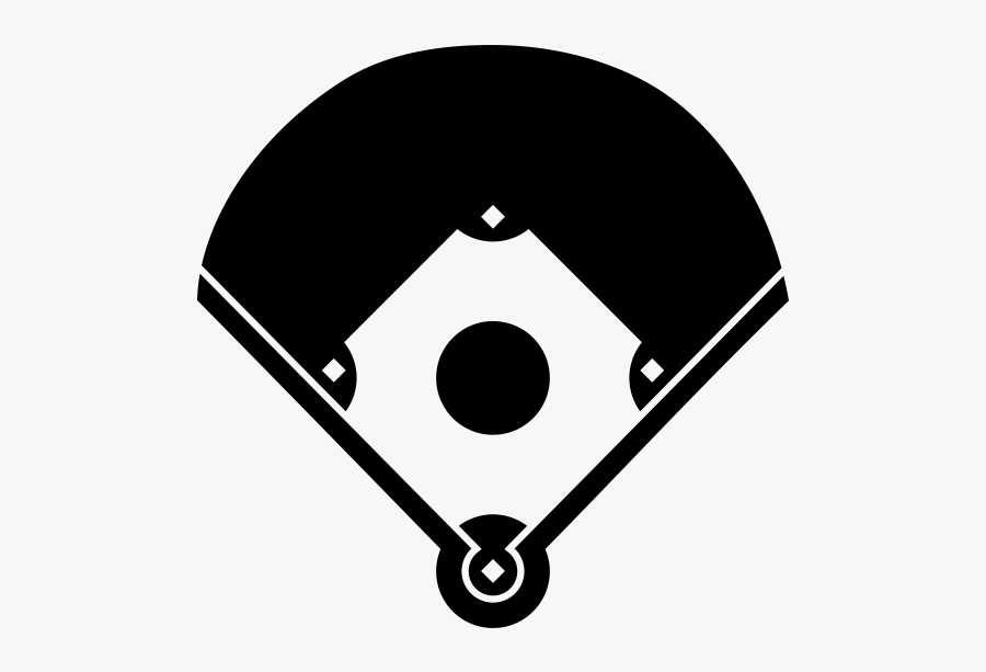 """  Class=""lazyload Lazyload Mirage Cloudzoom Featured - Baseball Diamond Black, Transparent Clipart"