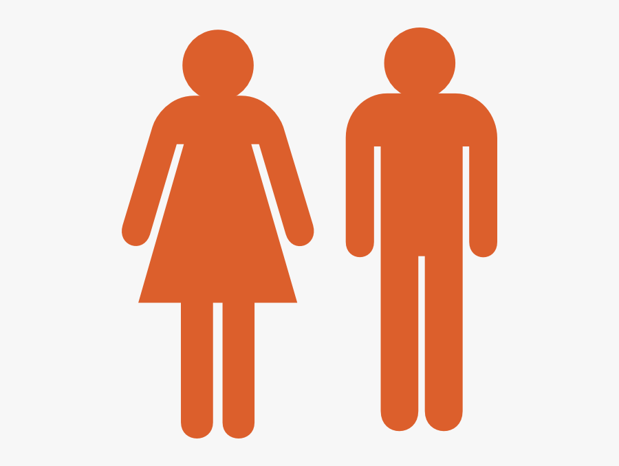 Couple Clipart Stick Figure - Stick Figure Male And Female, Transparent Clipart
