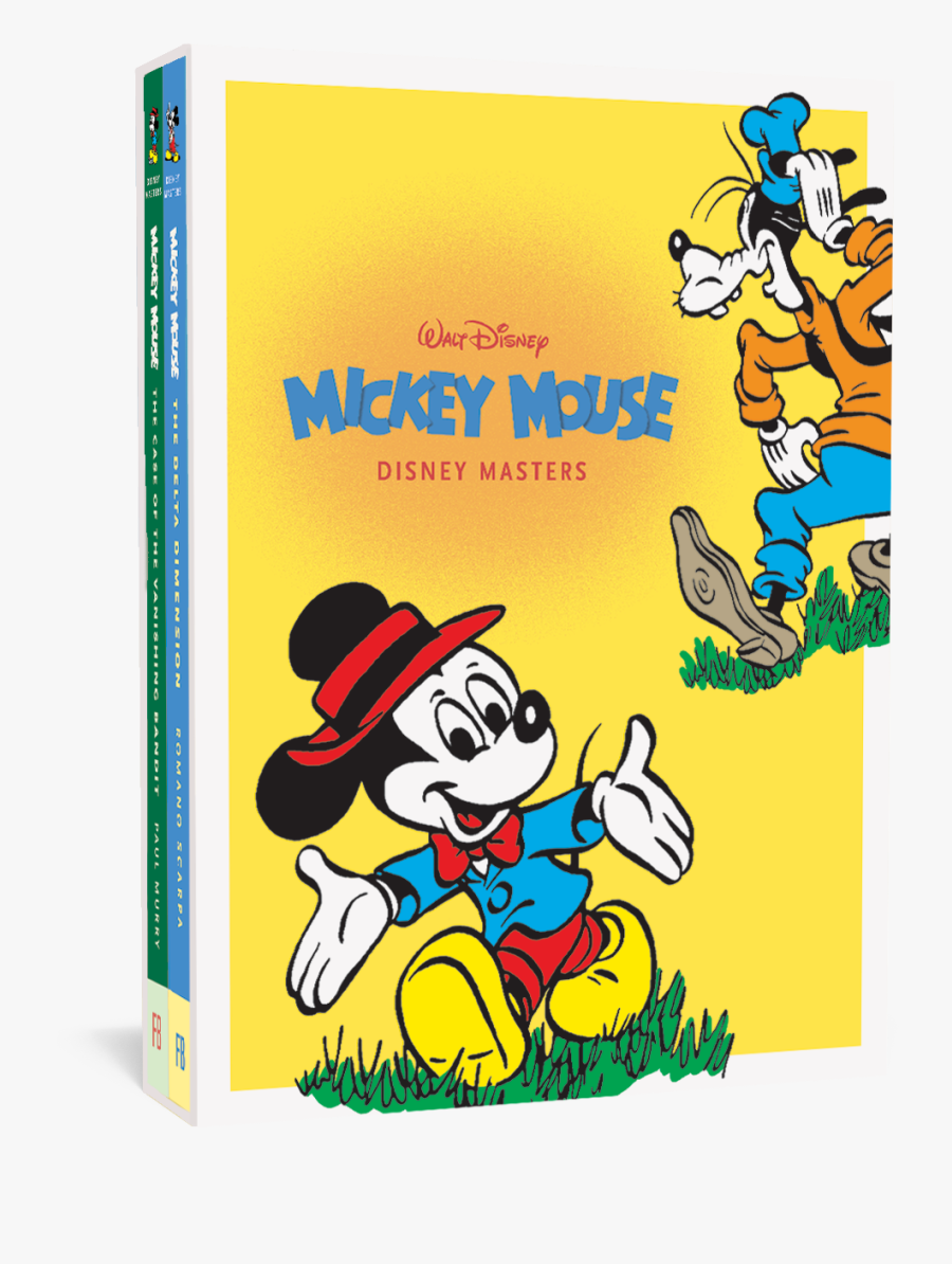 Disney Masters Mickey Mouse - Disney Masters, Transparent Clipart