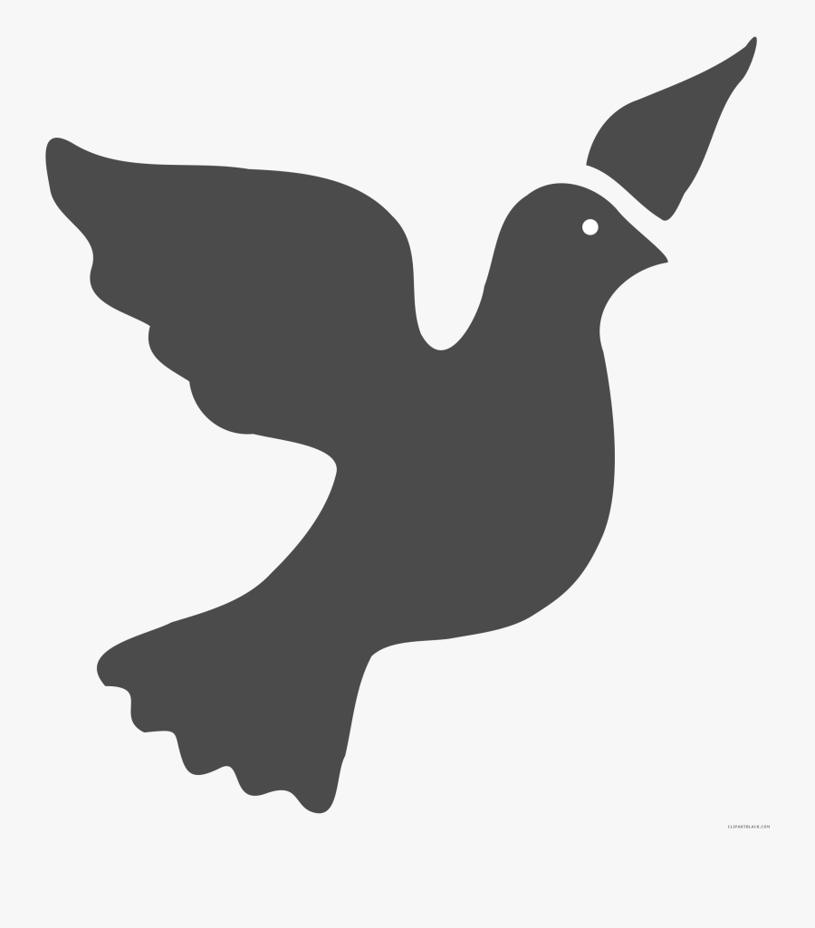 Peace Dove Clipart - Holy Spirit Dove Art Free, Transparent Clipart