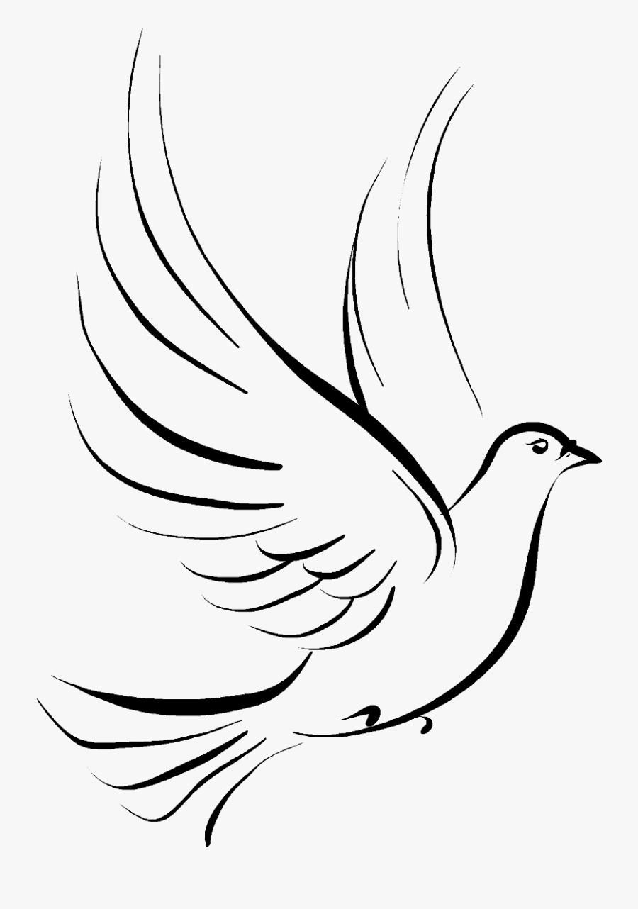 Transparent Dove Clipart - Holy Spirit Clipart Doves, Transparent Clipart