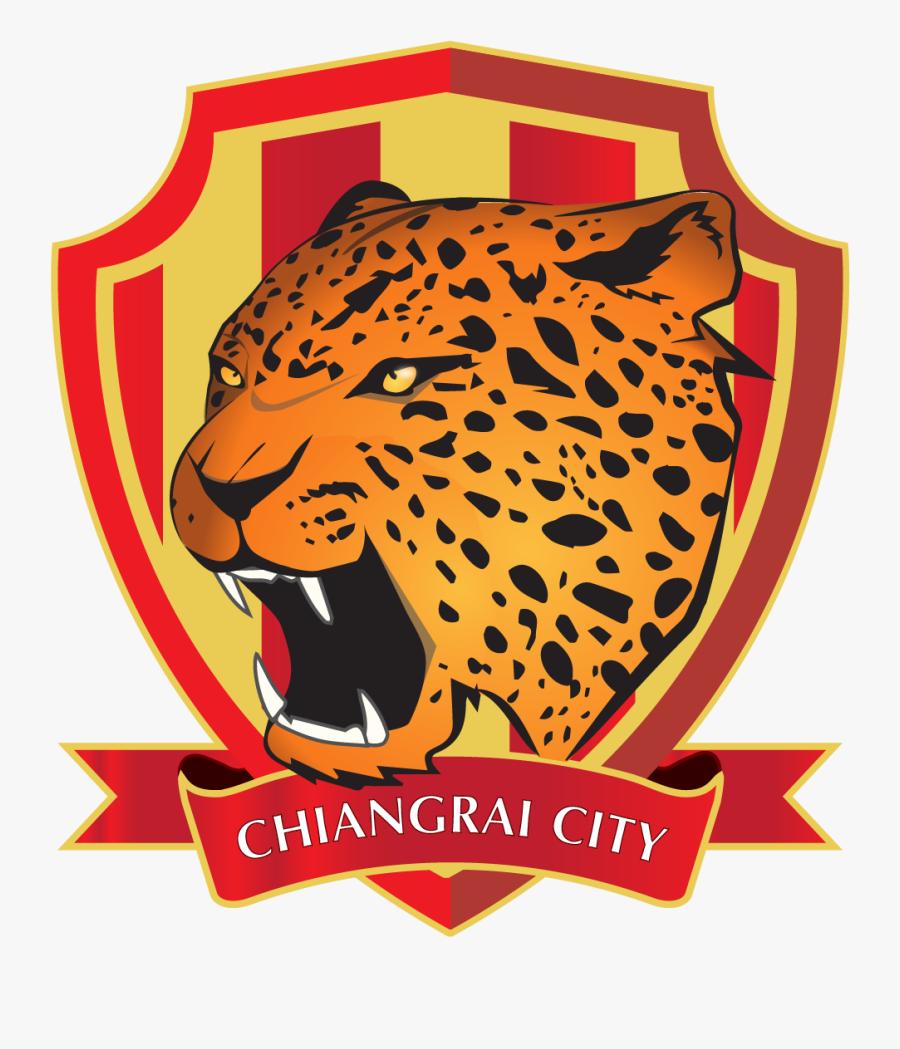 Leopard Clipart Jaguar Football - Chiangrai City Fc, Transparent Clipart