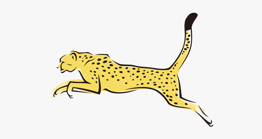 Collection Of Free Cheetah Drawing Tiger Download On - Cheetah Png Transparent Background, Transparent Clipart