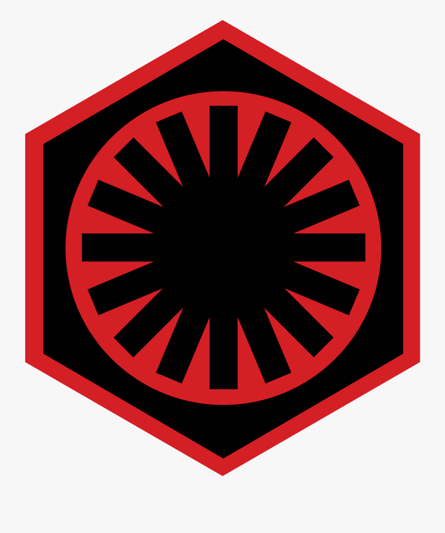 First Order Insignia Star Wars, Transparent Clipart
