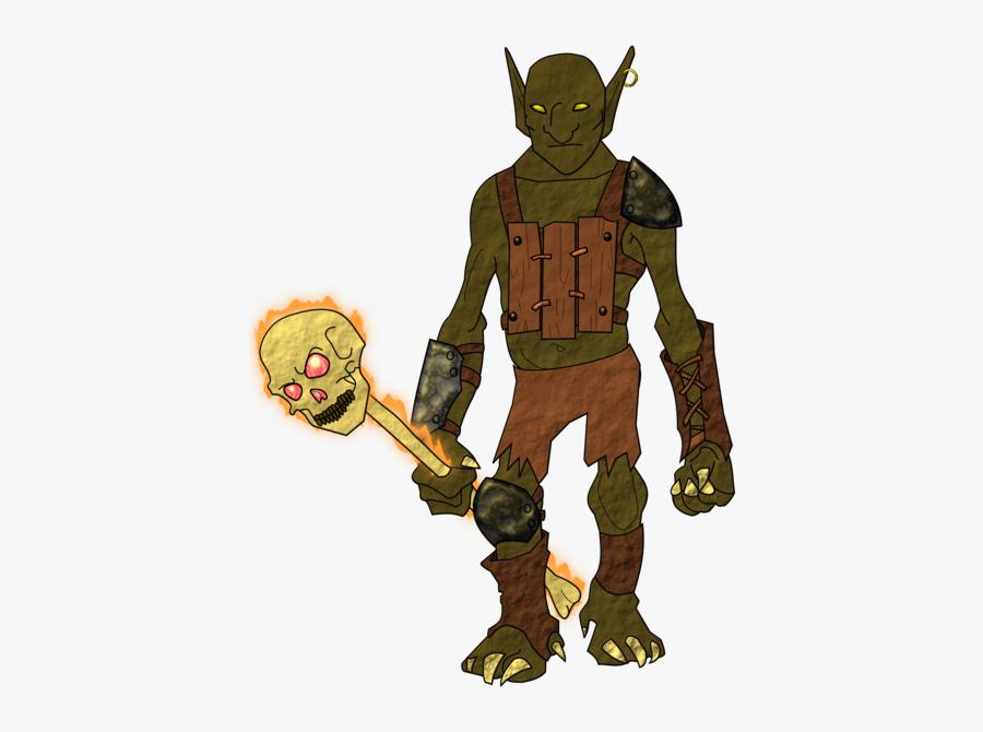 Fictional Character,action Figure,mythical Creature - Goblin Shaman Png, Transparent Clipart