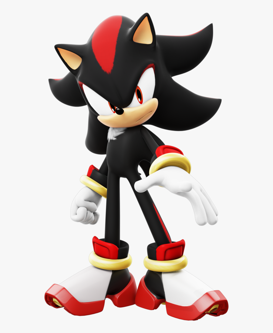Toy,cartoon,fictional Character,action Figure,sonic - Shadow The Hedgehog, Transparent Clipart