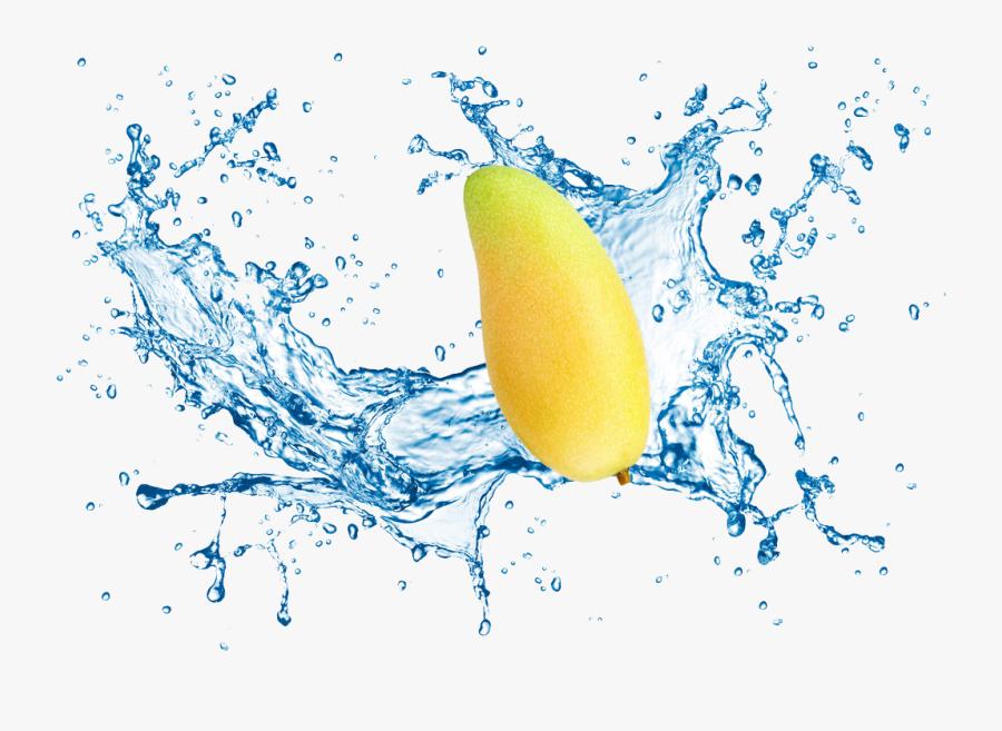 Fruit Water Splash Clipart Computer - Transparent Background Water Splash, Transparent Clipart