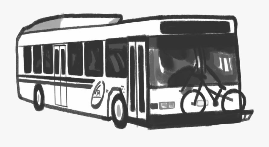 Tour Bus Service, Transparent Clipart