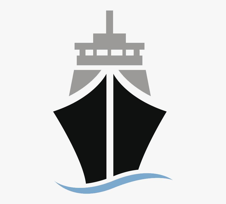 Container Ship Cargo Ship Clip Art - Cargo Ship Silhouette, Transparent Clipart