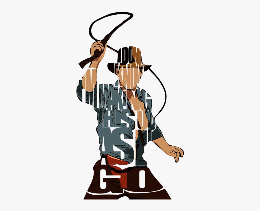 Best Indiana Jones Posters, Transparent Clipart