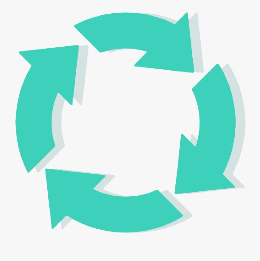 Looping, Symbol, Update, Clipart - Обновления Вектор, Transparent Clipart