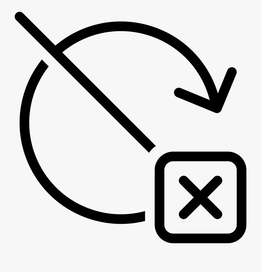 Exit Without Update Icon - Keep Away From Children, Transparent Clipart